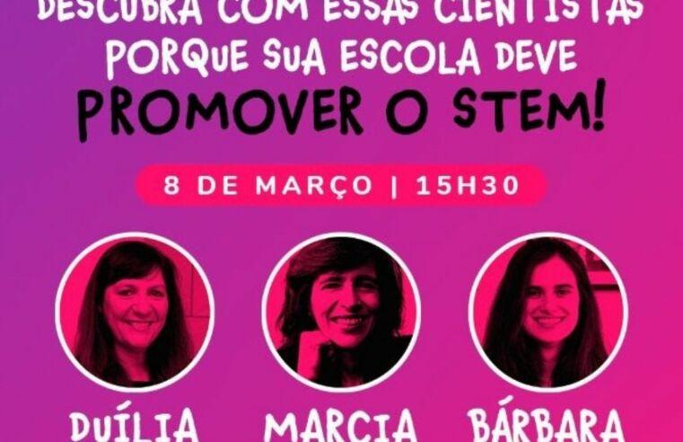 EstroGênias: Live em 8/3 destaca trabalho de cientistas brasileiras