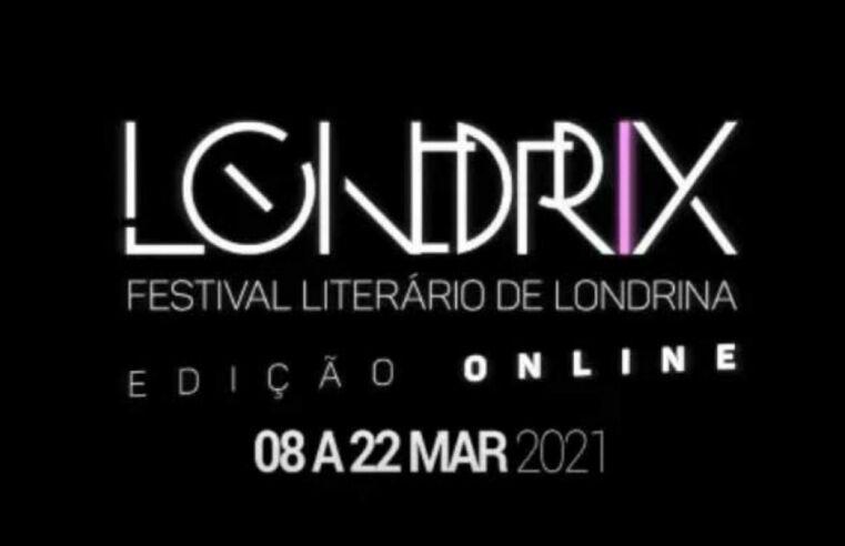 Em formato on-line, festival Londrix 2021 debate literatura e educação