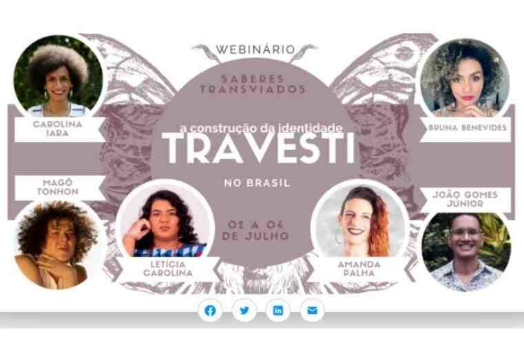 Seminário  aborda a construção da identidade travesti no Brasil