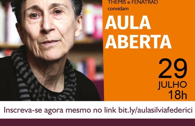 Filosofia: Silvia Federeci faz aula aberta sobre trabalho doméstico