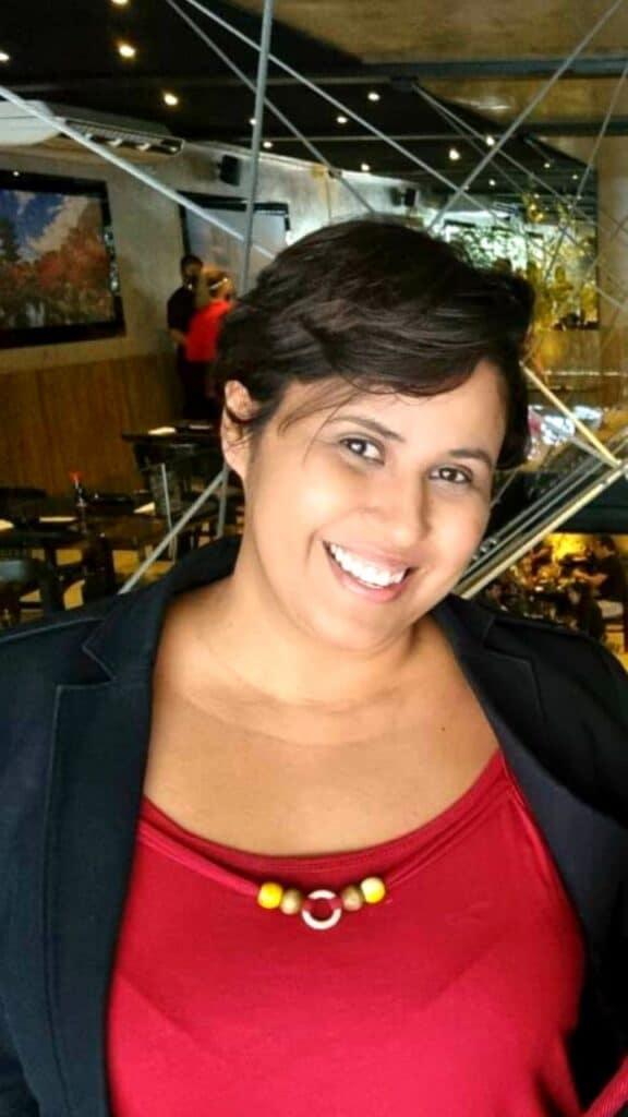 A entrevistada, Fabiana Carvalho, afirma que visibilidade lésbica é essencial para sua vida.